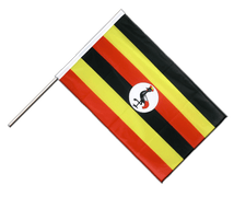 Uganda - Hand Waving Flag PRO 2x3 ft