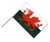Wales - Hand Waving Flag PRO 2x3 ft