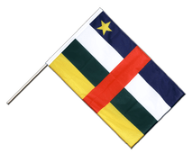 Central African Republic - Hand Waving Flag PRO 2x3 ft