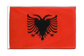 Albania - Sleeved Flag ECO 2x3 ft