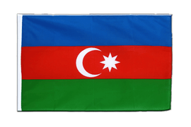 Azerbaijan Sleeved Flag ECO - 2x3 ft