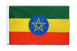 Ethiopia with star Sleeved Flag ECO - 2x3 ft