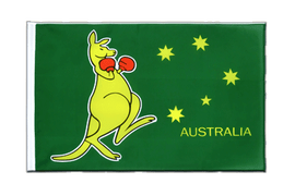 Australia kangaroo - Sleeved Flag ECO 2x3 ft