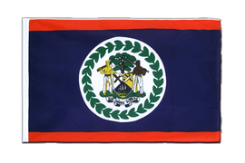 Belize - Sleeved Flag ECO 2x3 ft