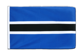 Botswana - Sleeved Flag ECO 2x3 ft