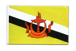 Brunei Sleeved Flag ECO - 2x3 ft