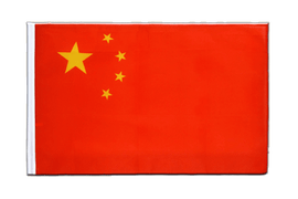 China - Hohlsaum Flagge ECO 60 x 90 cm