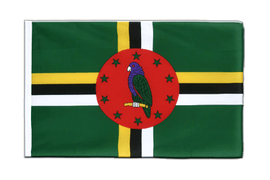 Dominica - Sleeved Flag ECO 2x3 ft