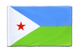 Djibouti - Sleeved Flag ECO 2x3 ft