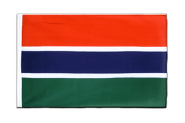 Gambia Sleeved Flag ECO - 2x3 ft
