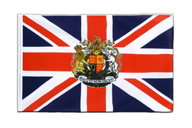 Great Britain with crest - Sleeved Flag ECO 2x3 ft