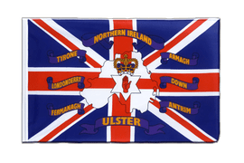 United Kingdom Northern Ireland 6 provinces - Sleeved Flag ECO 2x3 ft