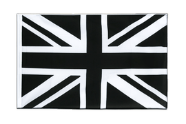 Pavillon Union Jack noir Fourreau ECO - 60 x 90 cm