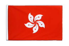 Hong Kong - Sleeved Flag ECO 2x3 ft