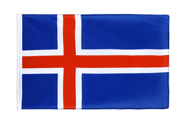 Iceland - Sleeved Flag ECO 2x3 ft