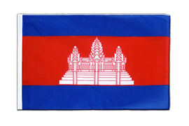 Cambodia Sleeved Flag ECO - 2x3 ft