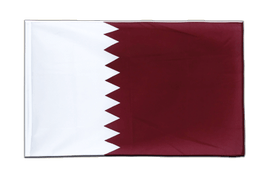 Qatar Sleeved Flag ECO - 2x3 ft