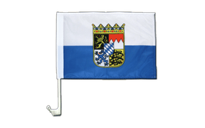 Bavaria Dienstflagge - Car Flag 12x16""
