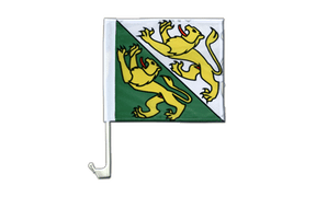 Thurgau - Car Flag 12x12""