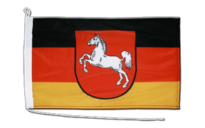 Lower Saxony - Boat Flag 12x18""