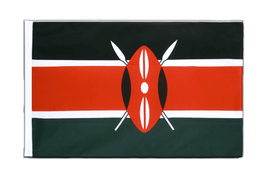 Kenya - Sleeved Flag ECO 2x3 ft