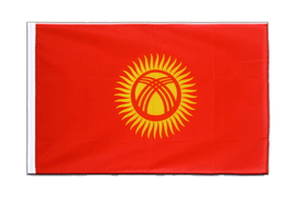 Kyrgyzstan - Sleeved Flag ECO 2x3 ft