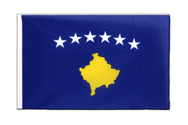 Kosovo - Sleeved Flag ECO 2x3 ft