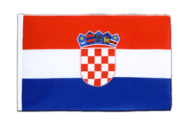 Croatia - Sleeved Flag ECO 2x3 ft