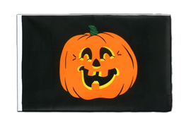 Pumpkin Sleeved Flag ECO - 2x3 ft