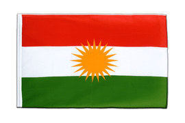 Kurdistan Sleeved Flag ECO - 2x3 ft
