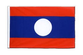 Laos Sleeved Flag ECO - 2x3 ft