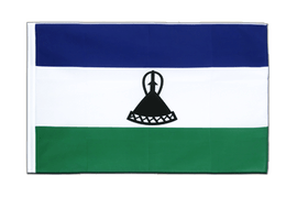 Lesotho new - Sleeved Flag ECO 2x3 ft