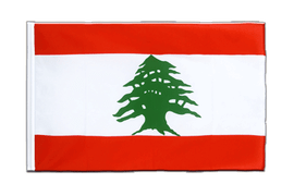 Lebanon Sleeved Flag ECO - 2x3 ft