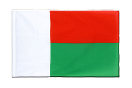 Madagascar - Sleeved Flag ECO 2x3 ft