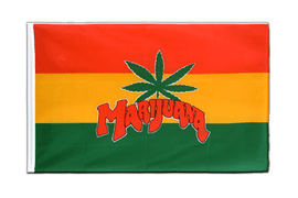 Marijuana - Sleeved Flag ECO 2x3 ft