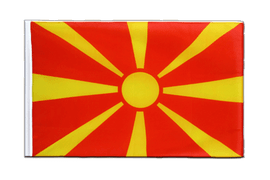 Macedonia - Sleeved Flag ECO 2x3 ft
