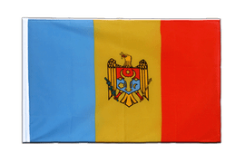 Pavillon République de Moldavie Fourreau ECO - 60 x 90 cm
