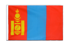 Mongolia Sleeved Flag ECO - 2x3 ft