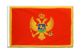 Montenegro - Sleeved Flag ECO 2x3 ft