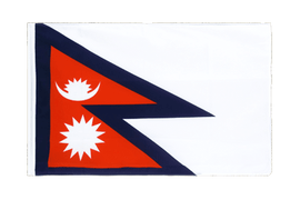 Nepal Sleeved Flag ECO - 2x3 ft