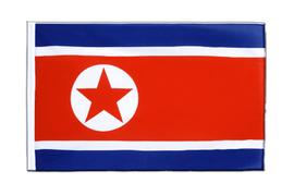 North corea Sleeved Flag ECO - 2x3 ft