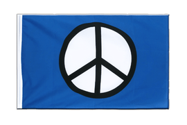Pavillon Symbol de Paix Peace Fourreau ECO - 60 x 90 cm