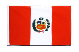 Peru - Sleeved Flag ECO 2x3 ft