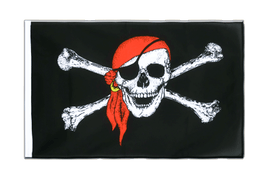 Pavillon Pirate avec foulard Fourreau ECO - 60 x 90 cm