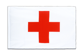 Red Cross - Sleeved Flag ECO 2x3 ft