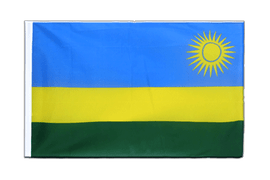 Rwanda - Sleeved Flag ECO 2x3 ft