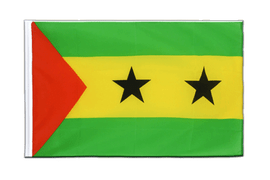 Sao Tome and Principe - Sleeved Flag ECO 2x3 ft