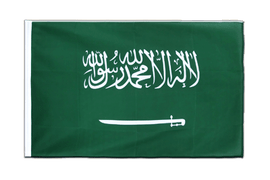 Saudi Arabia Sleeved Flag ECO - 2x3 ft