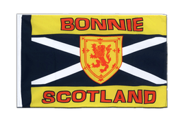 Scotland Bonnie Scotland - Sleeved Flag ECO 2x3 ft
