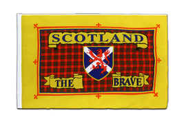 Scotland the Brave - Sleeved Flag ECO 2x3 ft